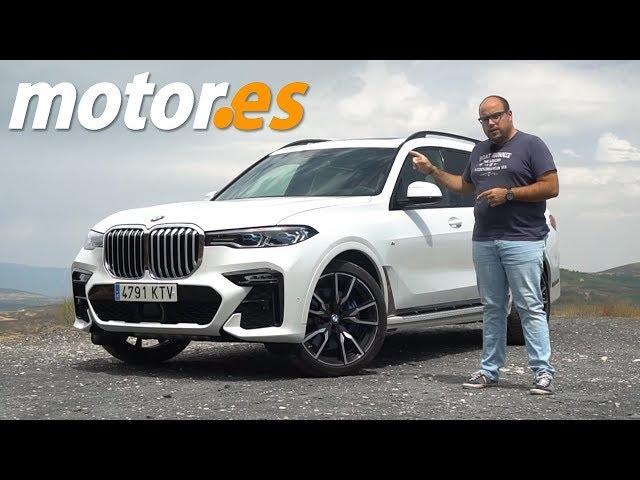 BMW X7 2019   Prueba SUV