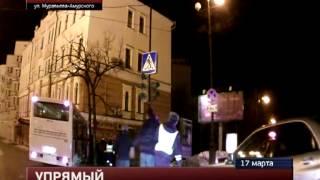 Погони в Хабаровске (ГИБДД совместно с гражданскими) 17.03.2013 со стрельбой