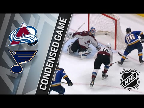 01/25/18 Condensed Game: Avalanche @ Blues