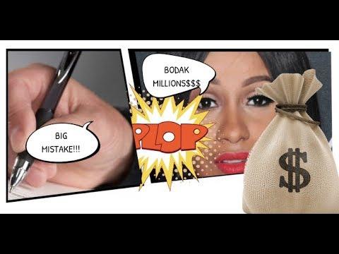 Cardi B SIgns Million Dollar Publishing Deal BIG MISTAKE, Pub Deal is Essentially a Loan. Explained
