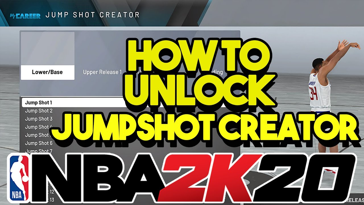 'NBA 2k20' Jumpshot Creator - How to Unlock & Where to Find It