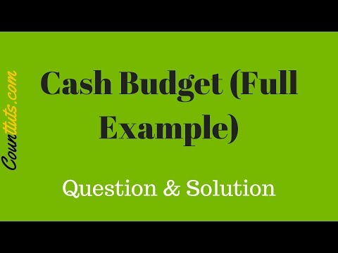 home prepared budget