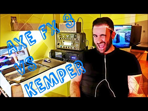 Axe fx 3 VS Kemper - By Aris koskinas
