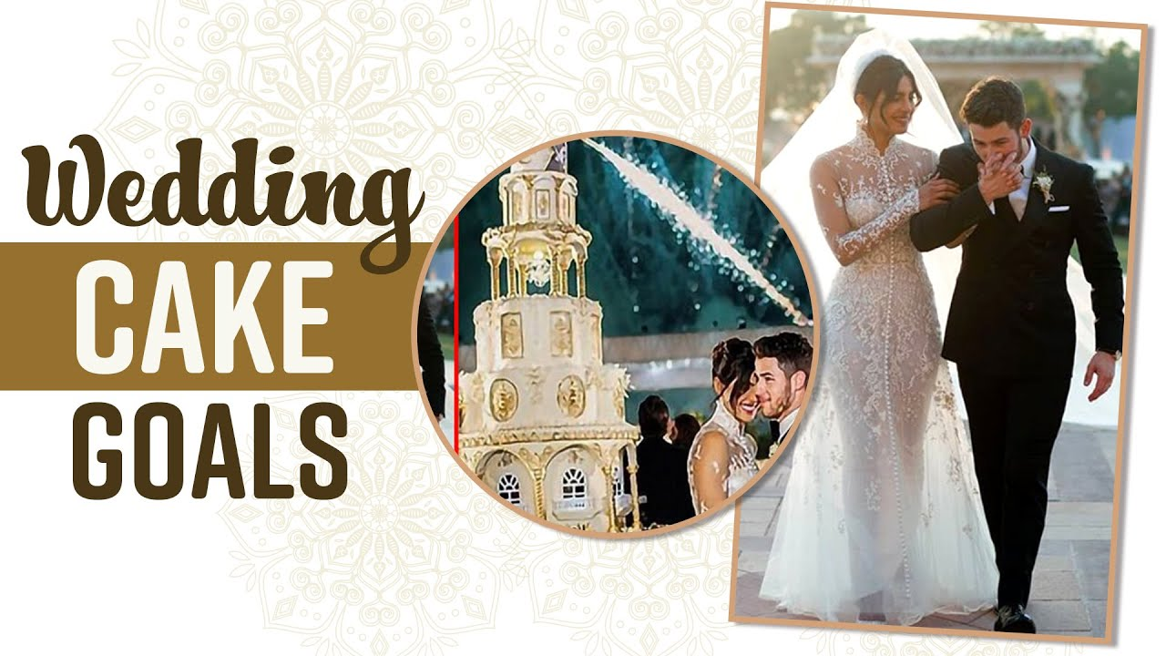 Priyanka Chopra Nick Jonas Royal Wedding Cake Youtube