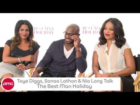 Taye Diggs, Sanaa Lathan, & Nia Long Talk THE BEST MAN HOLIDAY With AMC