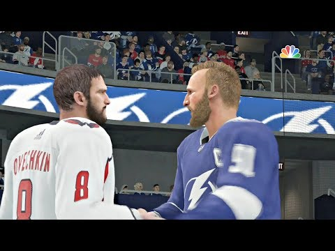 NHL Eastern Conference Final Game 7 Washington Capitals vs Tampa Bay Lightning Sim NHL 18 Xbox One