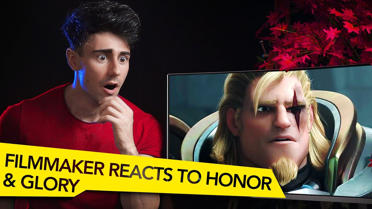 FILMMAKER REACTS TO OVERWATCH HONOR AND GLORY CINEMATIC!