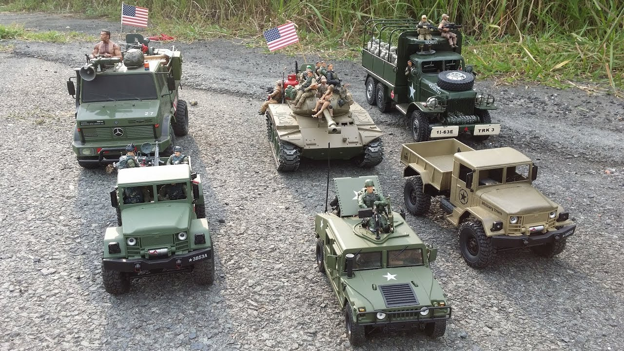 RC TRUCK MODELS: Military Marches of the Army Terminator - Military Truck  and Heavy Tank