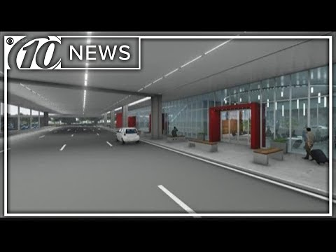Tampa International Airport Express Curbsides Construction To