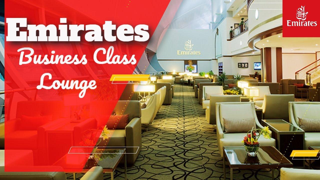 Emirates Business Class Lounge - Dubai