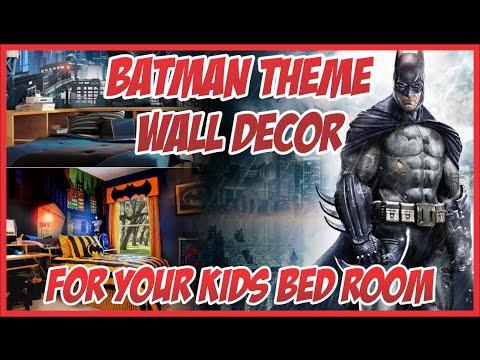 Batman Kids Room Decoration Ideas