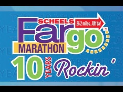 2014 Fargo Marathon: 10 Years of Rockin' and Running!