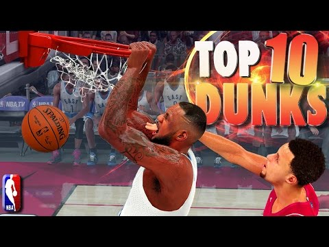 NBA 2K16 TOP 10 DUNKS, POSTERS, Alley-OOps, Putbacks Of The WEEK! #3