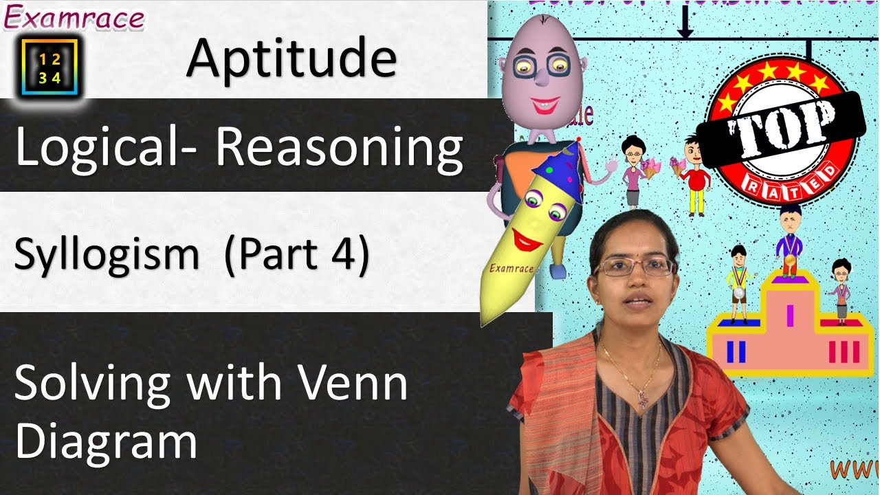 Conquering all syllogism problems part 4 of 4 examples 1 simple conquering all syllogism problems part 4 of 4 examples 1 simple trick with venn diagram ccuart Images