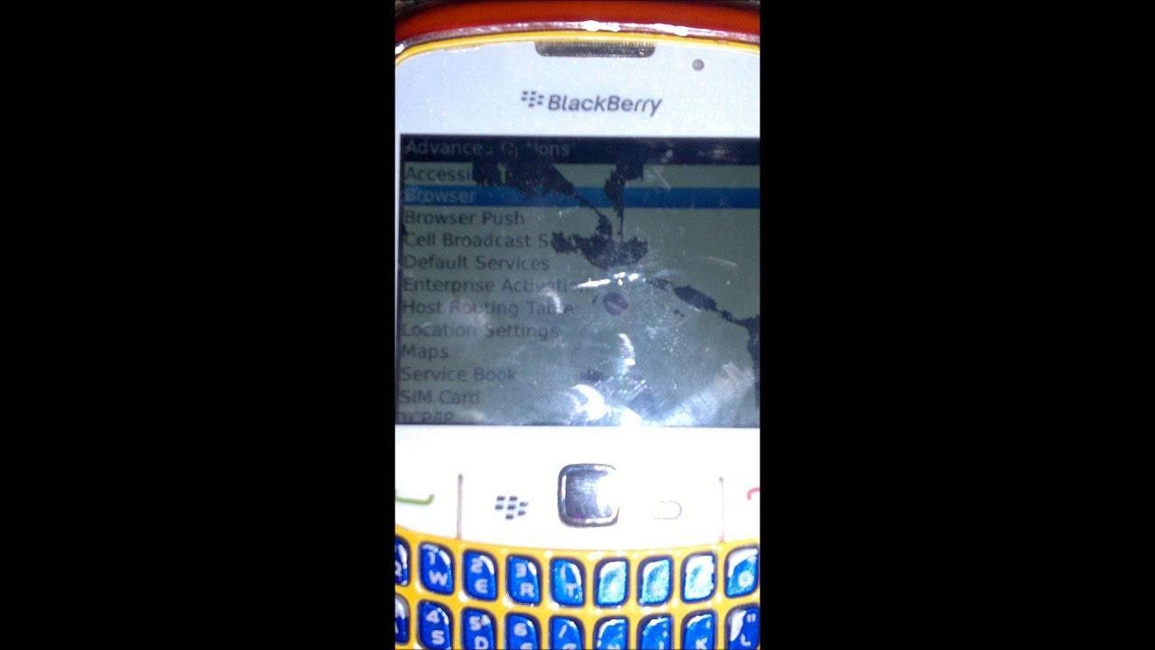 navigateur internet blackberry curve 8520