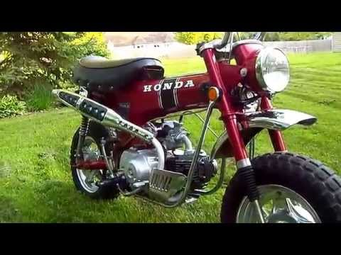 FIRST YEAR 1969 Honda CT70 'Trail 70', For Sale on Ebay