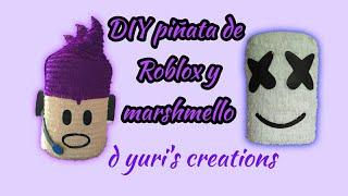 How to make a Roblox piñata / marshmello piñata / two piñatas in one