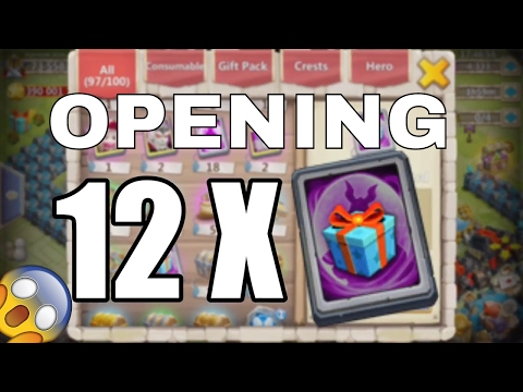 Castle Clash : Opening 12 SHC ( 12 Special Hero Cards )