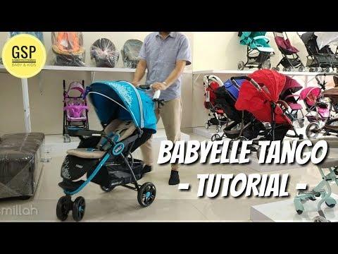 cara-menggunakan-stroller-babyelle-tango
