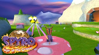 Spyro 3: Year of the Dragon Hack - Play as Spyro in Sheila