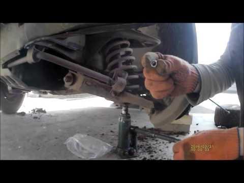 Как заменить шаровые на ваз 2107 видео