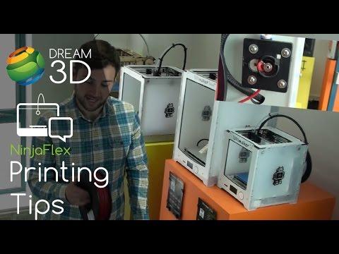 NinjaFlex 2 85mm Flexible Filament | Dream 3D