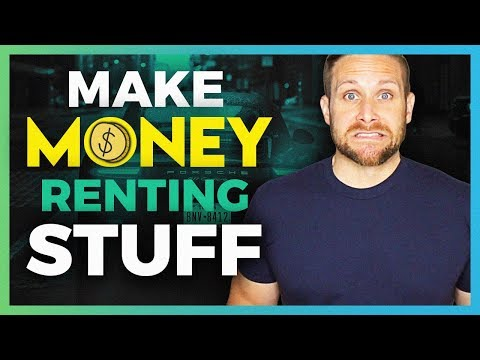 Ways To Make Money On The Side Renting Your Stuff