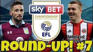 The Championship Round-UP #7 + My Midweek Score Predictions! WONDER-GOALS & STEEL CITY DERBY!
