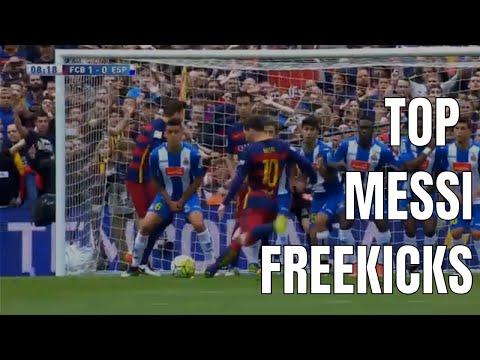 Top 17 Lionel Messi's Unbelievable Freekicks
