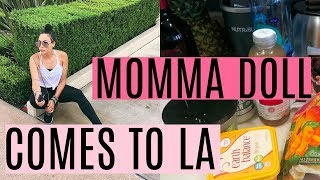 Mama Doll Comes to LA + Outlet Shopping