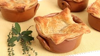Mini Turkey Meatball Pot Pies - Laura Vitale - Laura In The Kitchen Episode 837