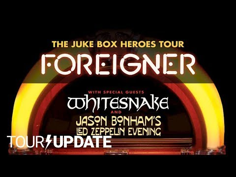 Foreigner Announces the Juke Box Heroes Tour | Tour Update