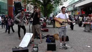 SkyFall - Matt Fletcher (Vocal) Elliot Moore (Violin) watch in HD