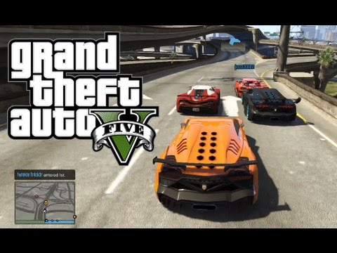 GTA 5 Online - The Most Intense Races in Long Haul History! w/The Crew