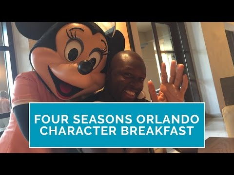 Why the Four Seasons Character Breakfast in Orlando Is a Must-Do