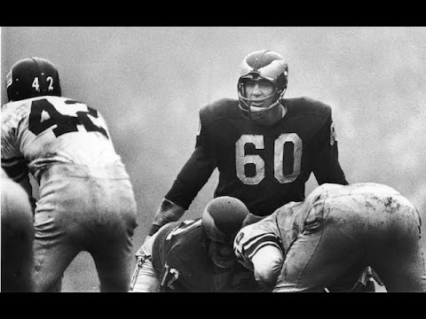 Eagles legend Chuck Bednarik dies