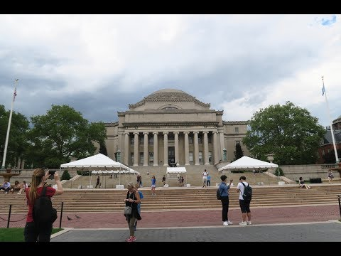 MY FIRST WEEK AT COLUMBIA!!!