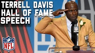 Terrell Davis' Hall of Fame Speech | 2017 Pro Football Hall of Fame | NFL