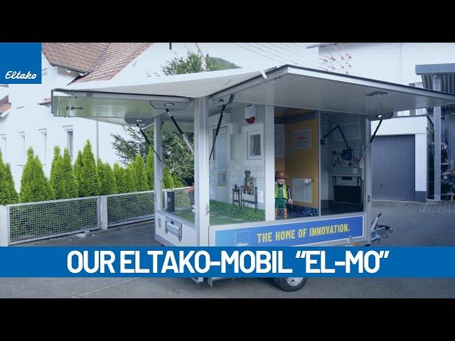 Eltako-Mobil | Our scandinavian trade fair trailer