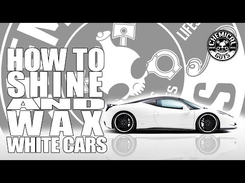 How To Shine and Wax White Cars - Chemical Guys Car Care