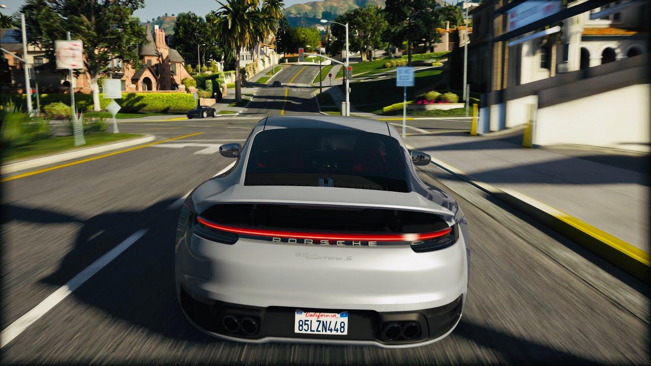 GTA 6 Graphics - 2020 BEST CARS MODs Gameplay! GEFORCE RTX™ 2080 Ti & i9-9900k   GTA 5 PC MOD