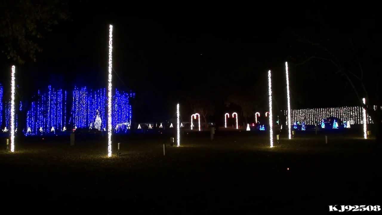 Christmas Light Show 2013 - Amazing Grace (Nashville, TN) - YouTube