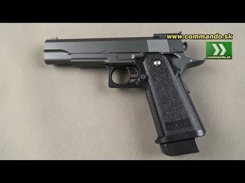 Airsoft pistol Galaxy G6 Manual 6mm