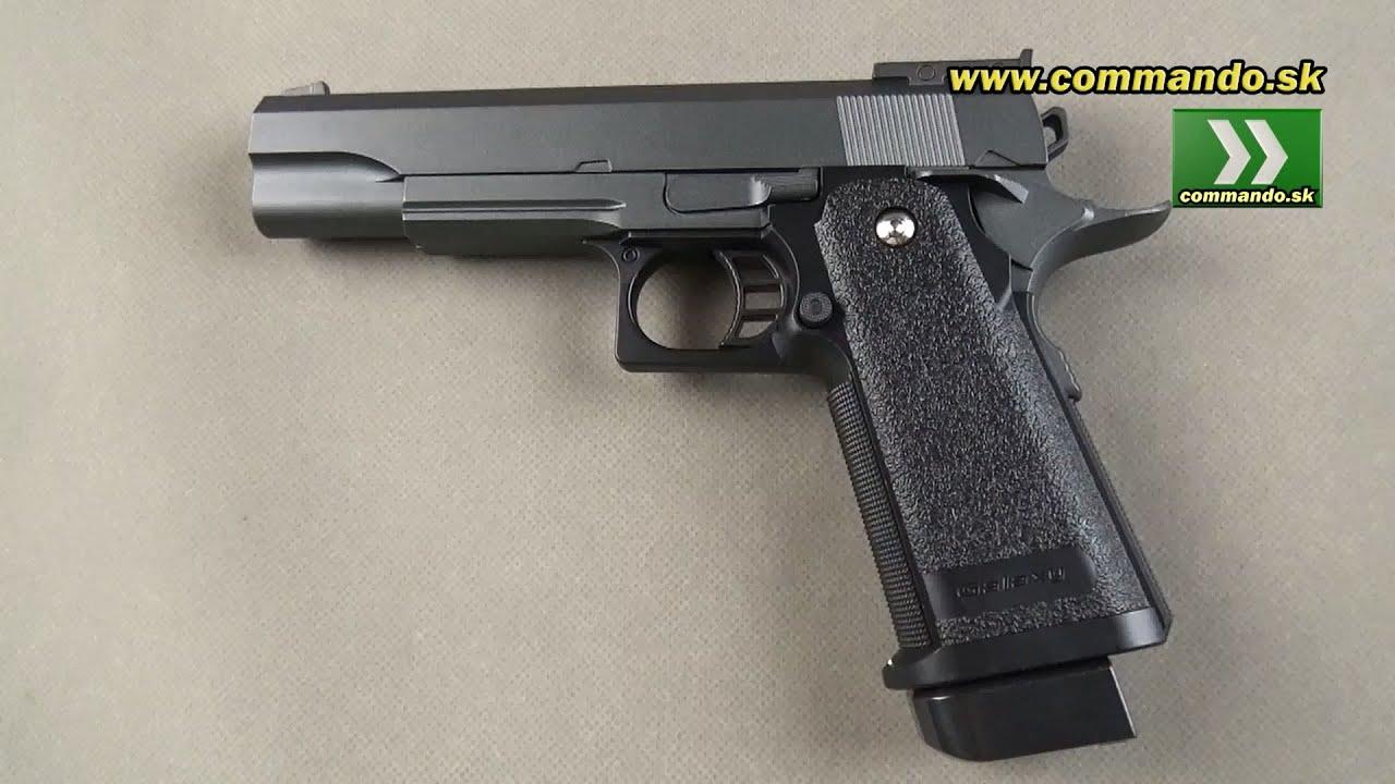Airsoft pistol Galaxy G6 Manual 6mm