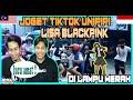 MALAYSIA REACTION | JOGET TIKTOK UNIPIPI LISA BLACKPINK DI LAMPU MERAH.. NGAKAK PARAH
