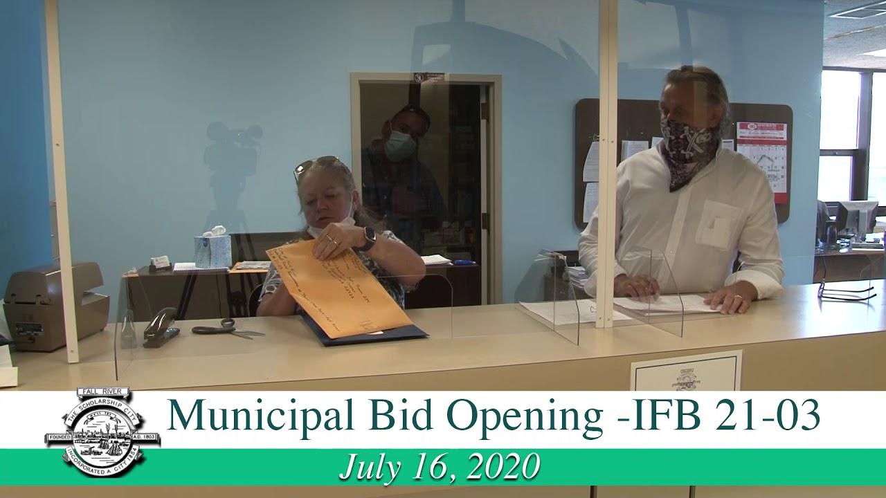 Municipal Bid Opening IFB 9-9