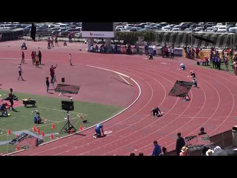 2018 Santa Barbara Easter Relays Boys 4x100 Meter Relay FroshSoph Heats 1 & 2