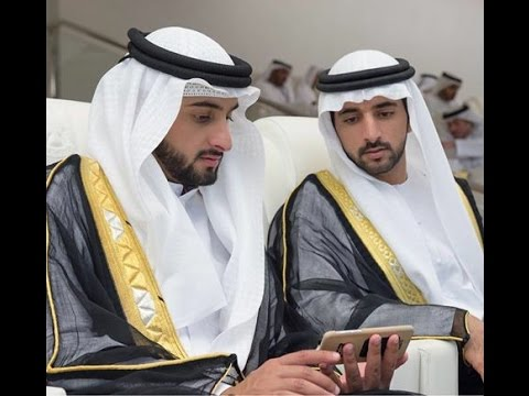 Sheikh Hamdan with Sheikh Ahmed