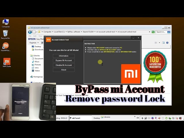 Mi password remover.rar