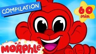 morphle s monkey adventures 1 hour funny morphle kids videos compilation